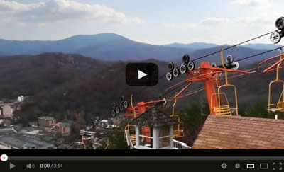 Gatlinburg Sky Lift Video