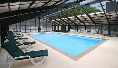 Enclosed Heated Pool