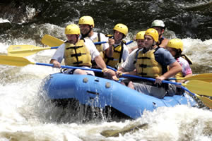 Rafting on the Pigeon River
